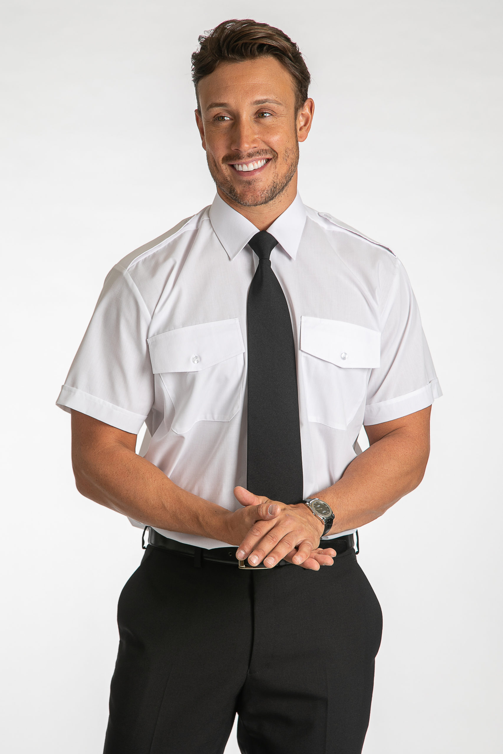 Short Sleeved Standard Fit AAC Shirt