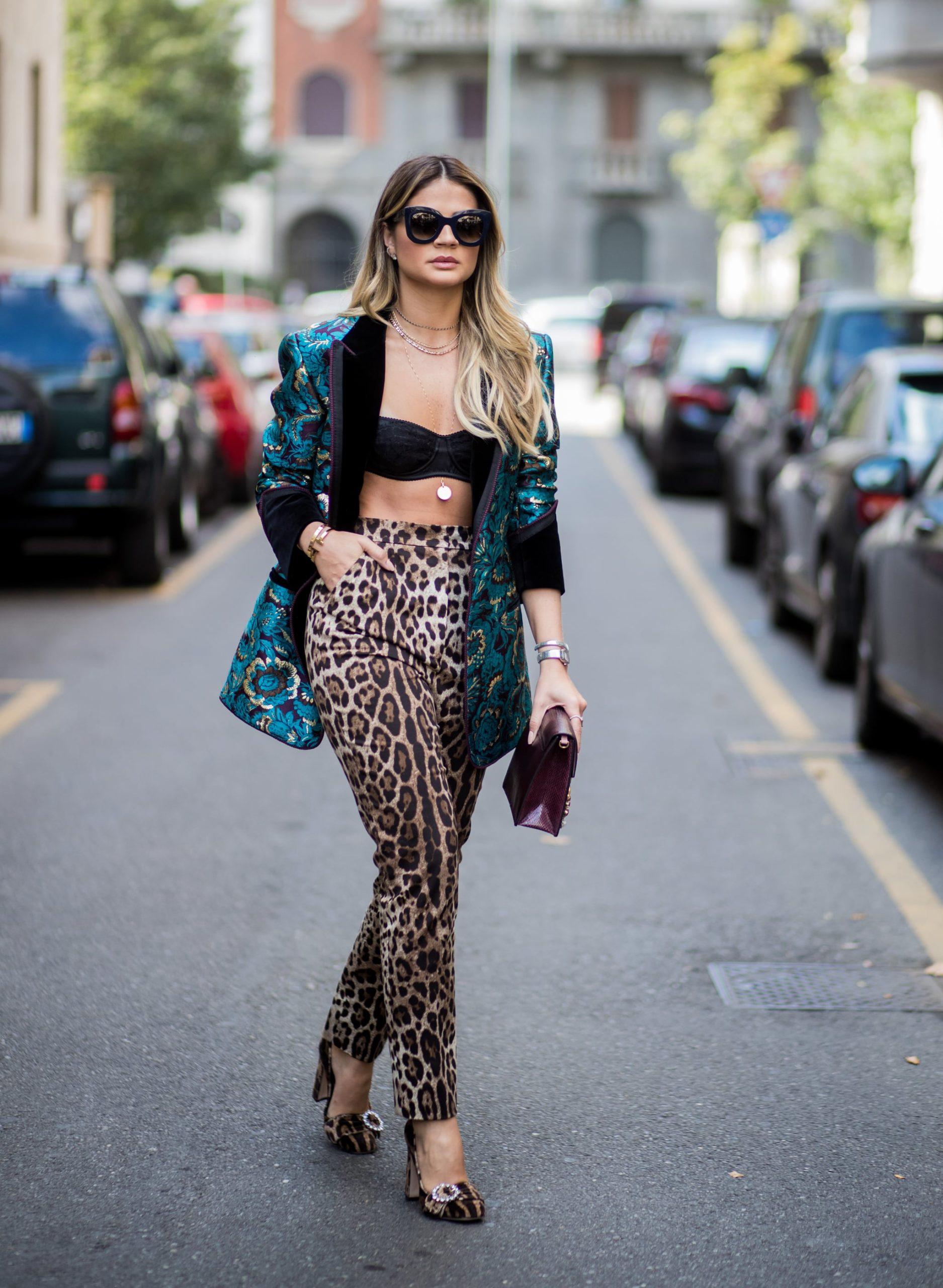 Trousers animal prints