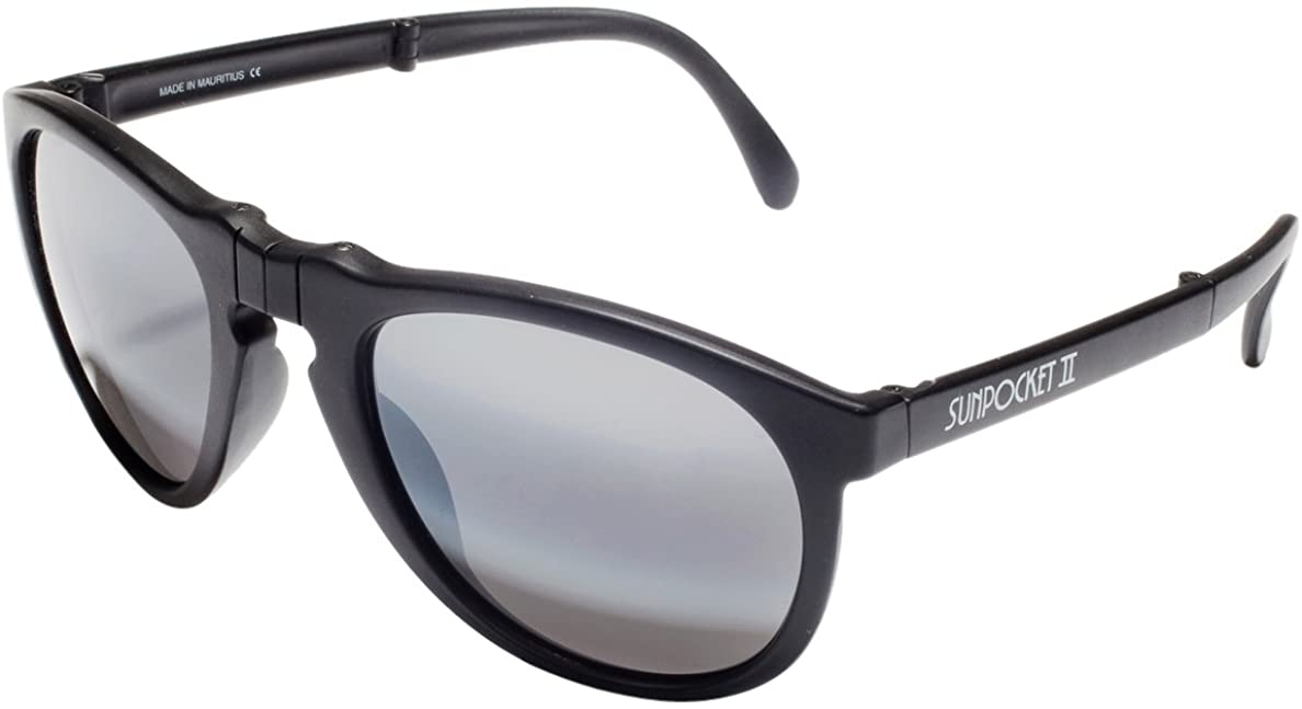 Sunpocket II Polarised Unisex Sunglasses Black
