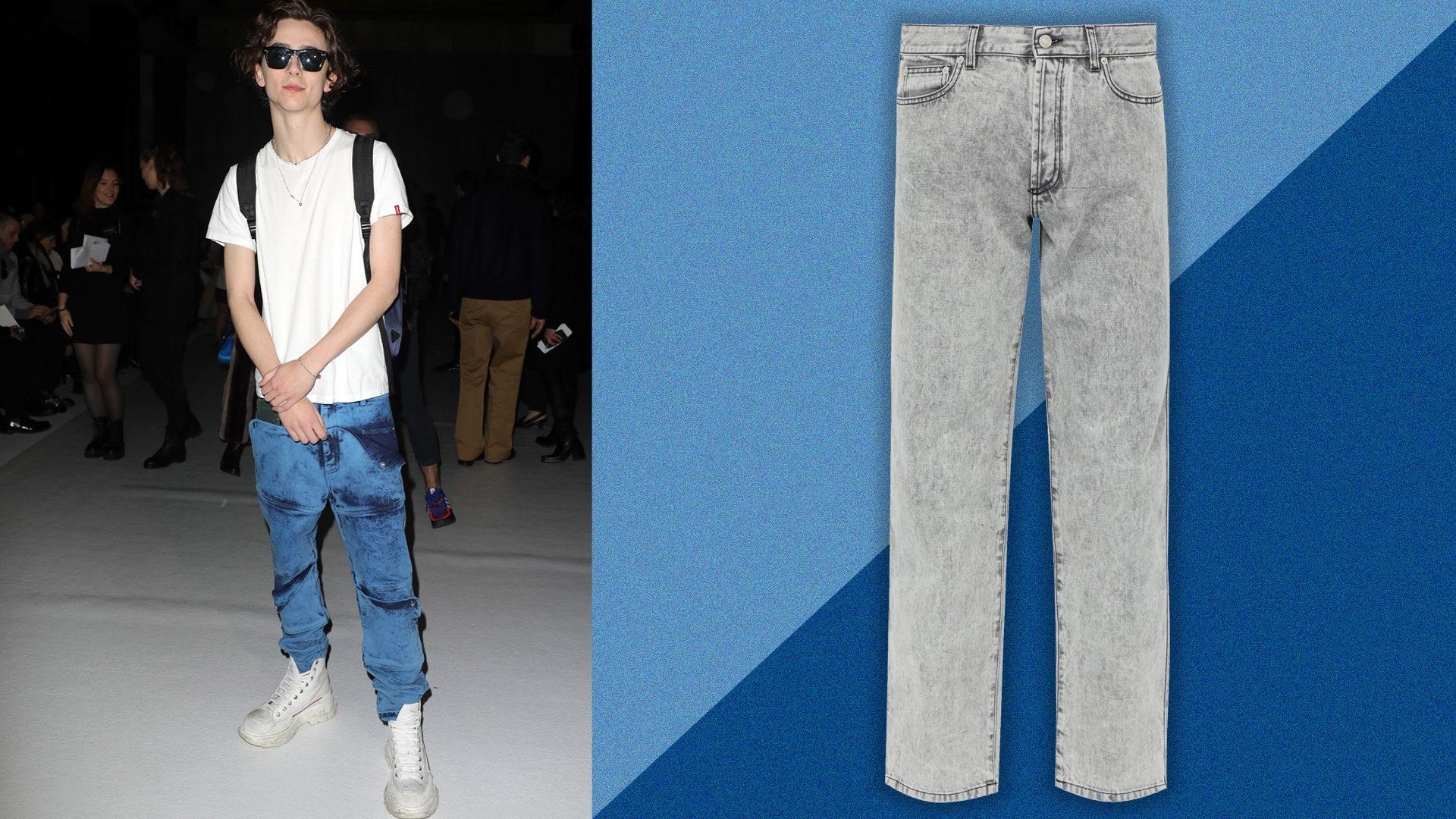 Acid Wash Jeans mens