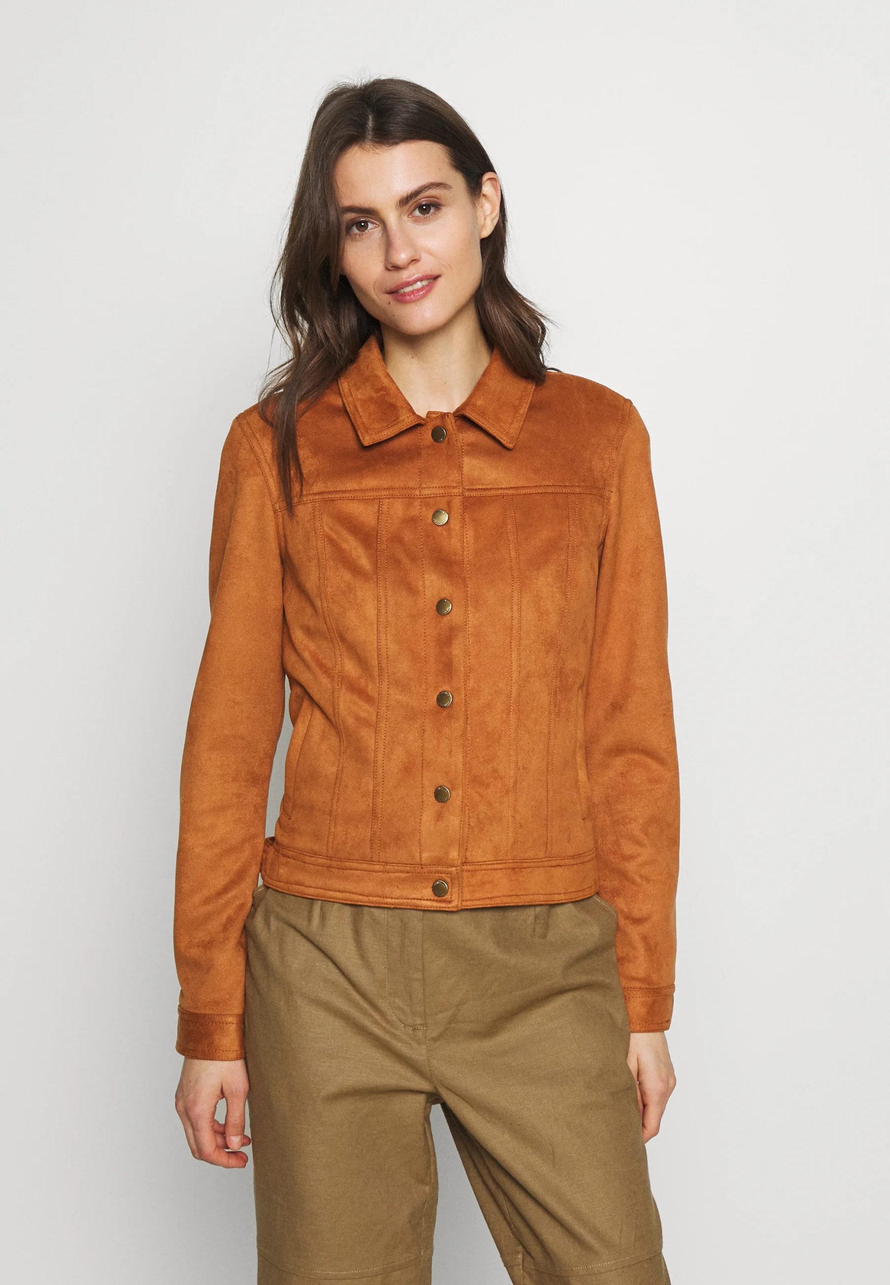 TRACKER ANTELINA - Faux leather jacket