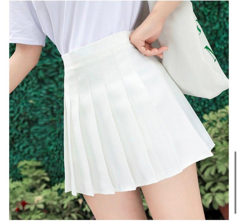 Tennis skirt pleated mini