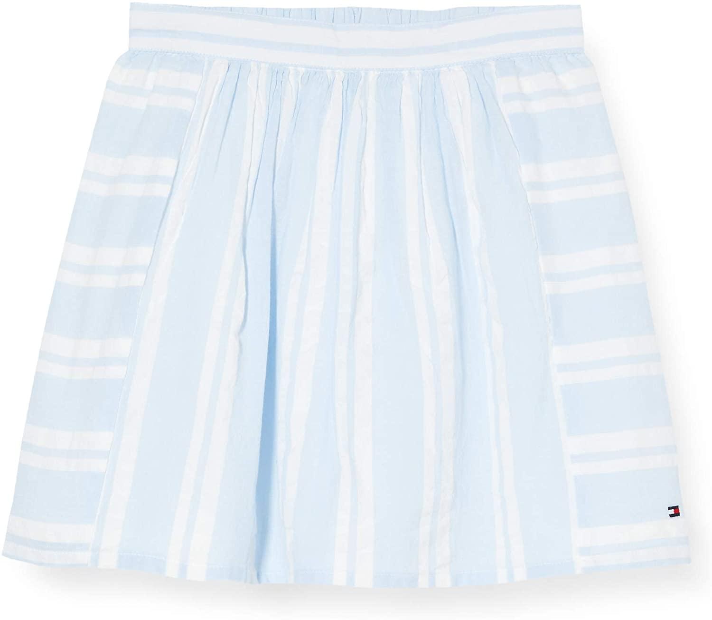Tommy Hilfiger Girl's Seersucker Pleated Skirt