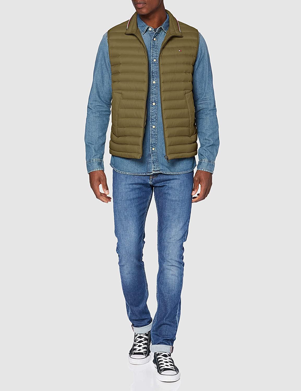 Tommy Hilfiger Men's Packable Down Vest Jacket