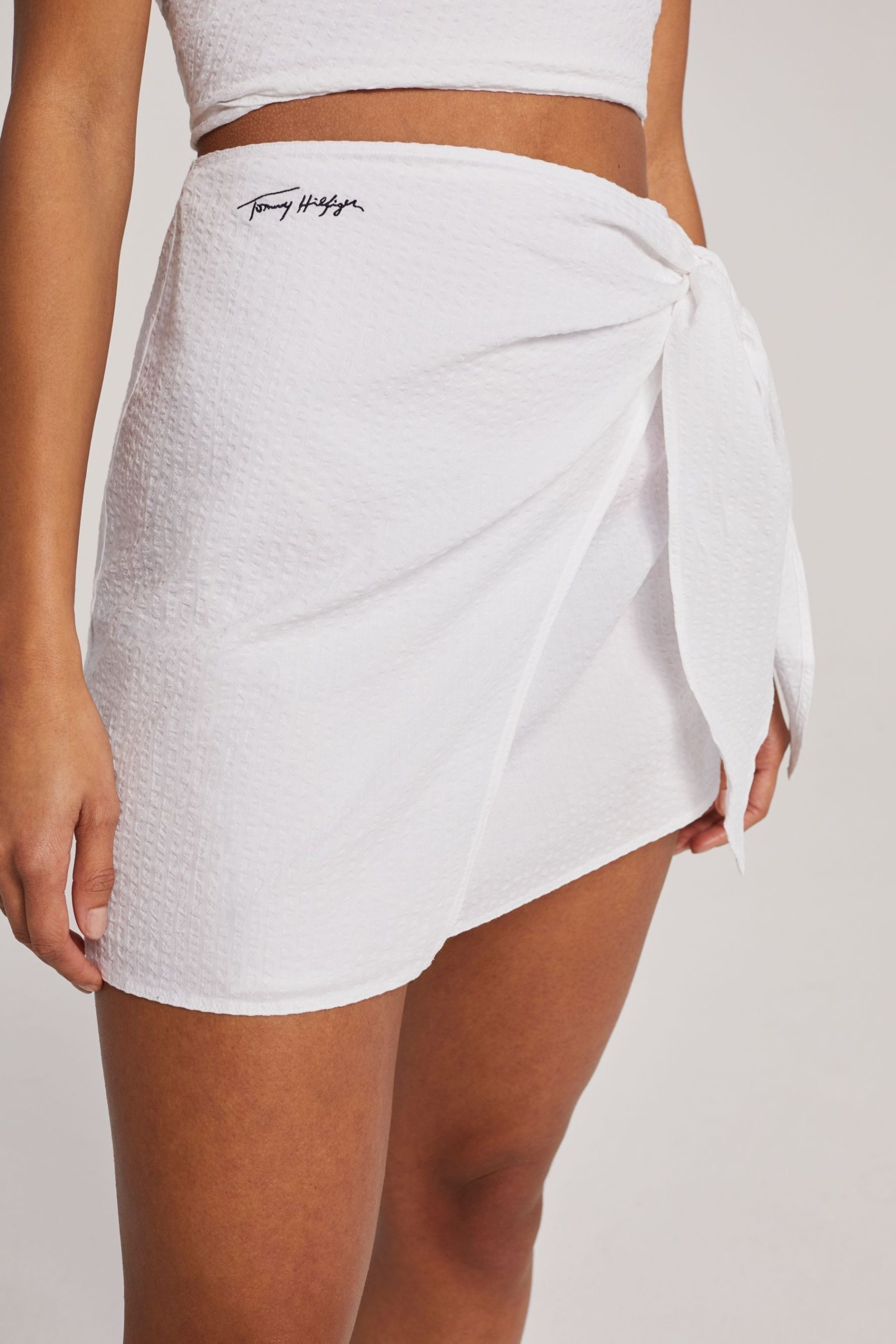 Tommy Hilfiger White Beach Club Skirt