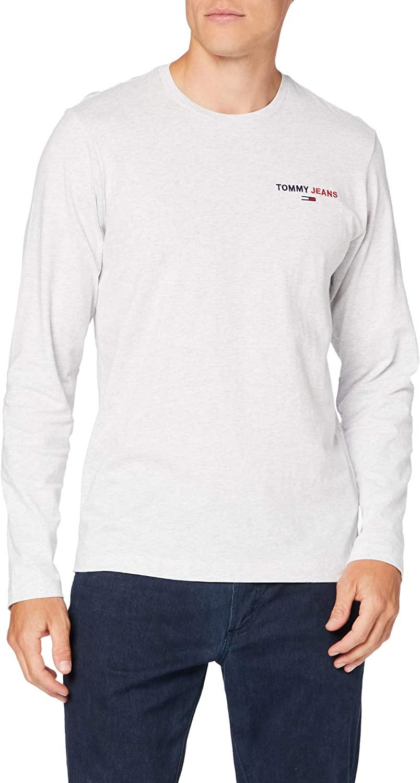 Tommy Jeans Men's TJM Longsleeve Corp Tee Shirt