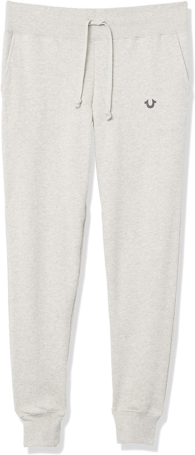 True Religion Women's High Waisted Slim Fit Jogger Sweapant Sweatpants