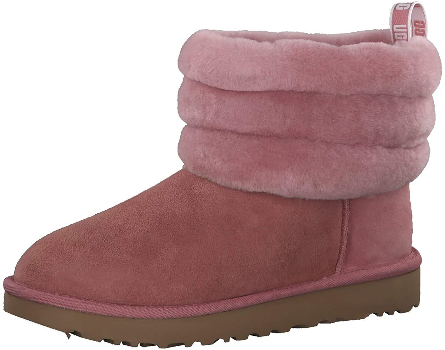 UGG - Boots Fluff Mini Quilted - Pink Dawn