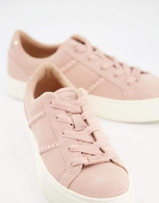 UGG Dinale trainers in quartz suede