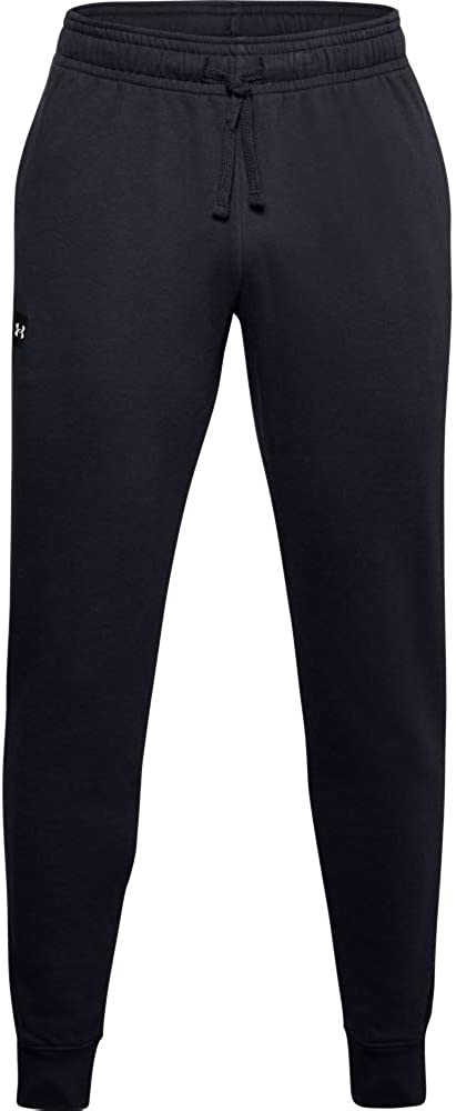 Under Armour Men's Rival Fleece Joggers Comfortable and Warm Tight Tracksuit Bottoms for Men, Men's Jogger Bottoms with Loose Fit