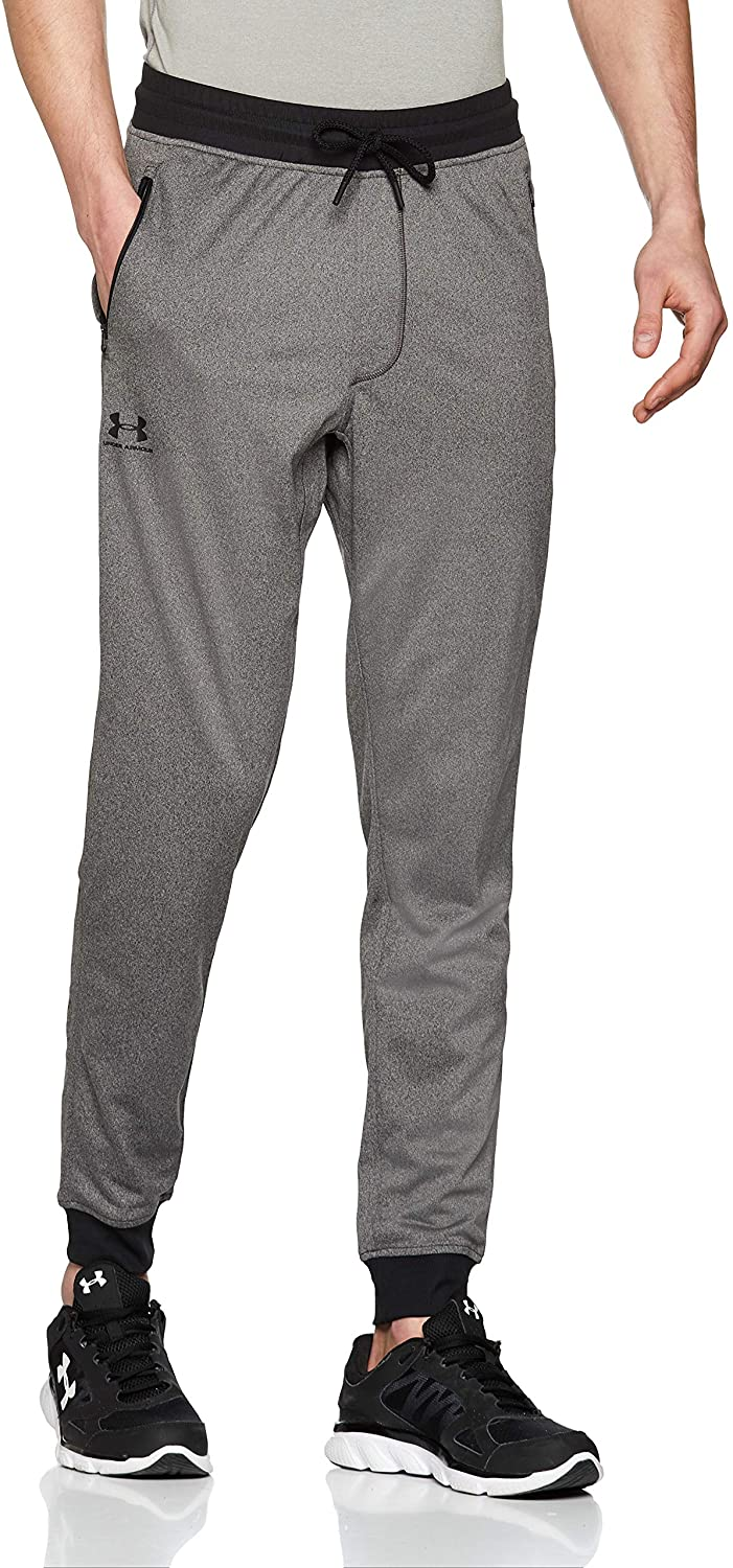 Under Armour Men's Sportstyle Tricot Jogger Warm and Comfortable Fleece Tracksuit Bottoms, Jogger Bottoms with Pockets