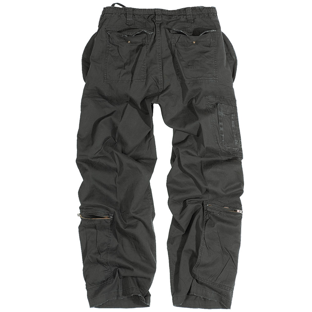 Us Infantry Mens Combat Trousers Surplus Work Casual Baggy Pants Black S-XXL