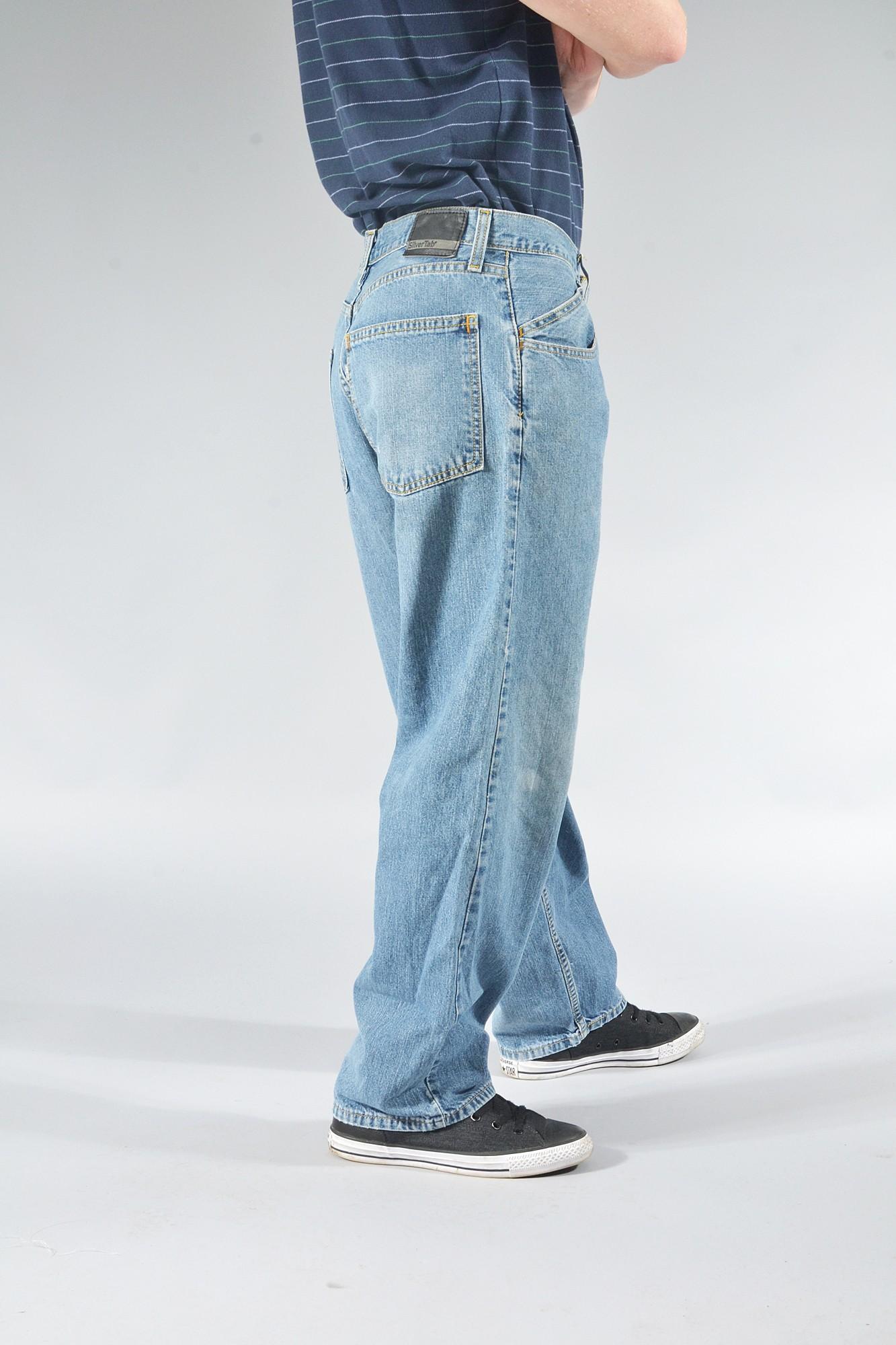 Vintage LEVI'S Silvertab Baggy Fit Jeans Various Colours
