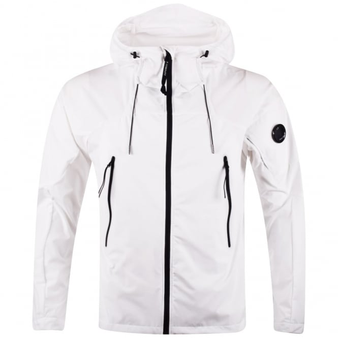 White Lightweight Goggle Jacket