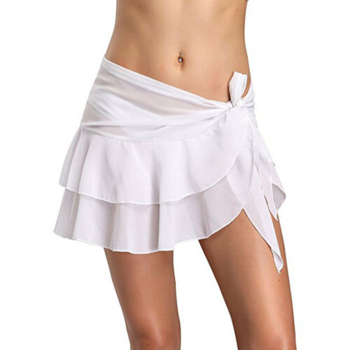 Women Bikini Swim Sheer Beach Wrap Skirt