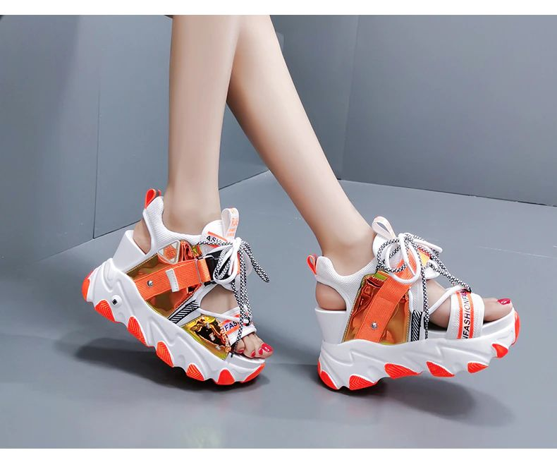 Women Chunky Platform Sandals