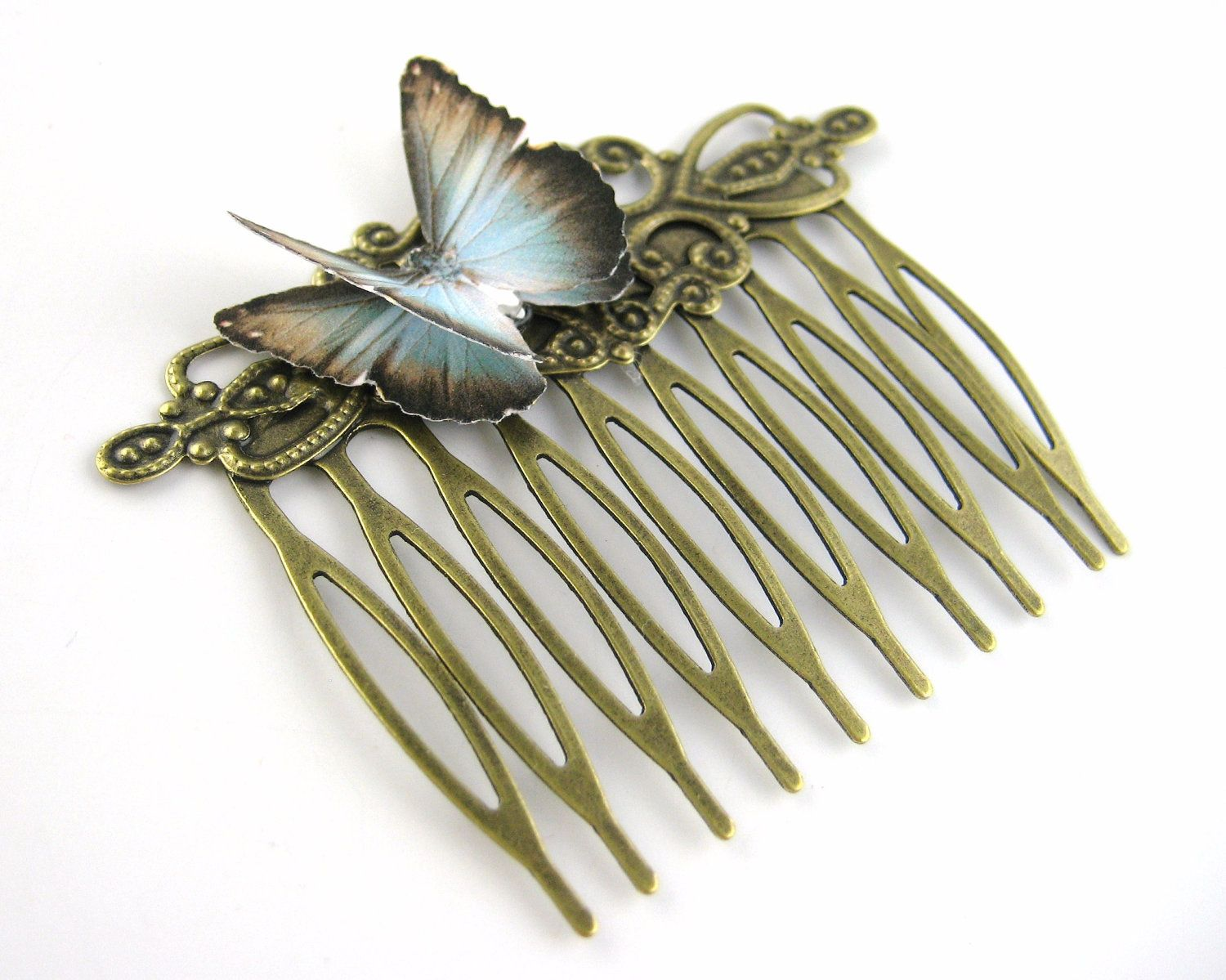 Women Hair Combs For Her Butterfly Hair Comb Clip