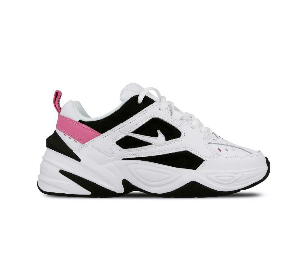 Womens NIKE M2K TEKNO White Trainers AO3108 105