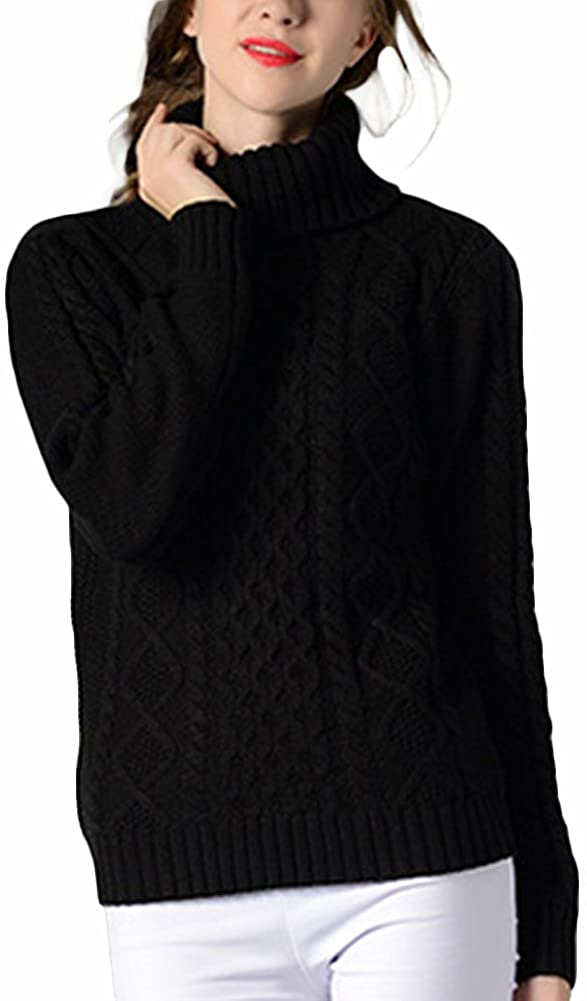 Womens Polo Cowl Roll Turtle Neck Sweater