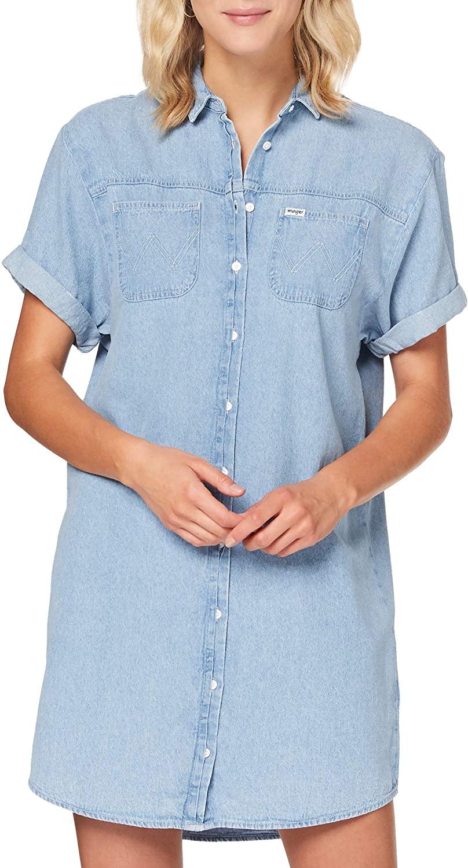 Wrangler Women's Denim Shirt Dress Jeans