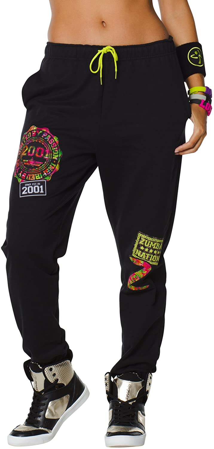 Zumba Women's Fitness WB Dance is Love Sweatpant