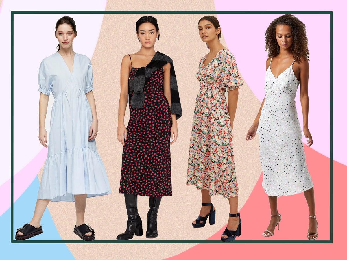 Midi Tea Dresses