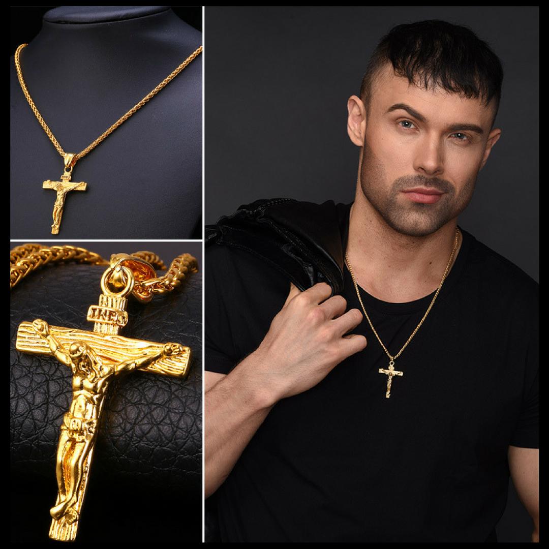 Men's Religious Necklace