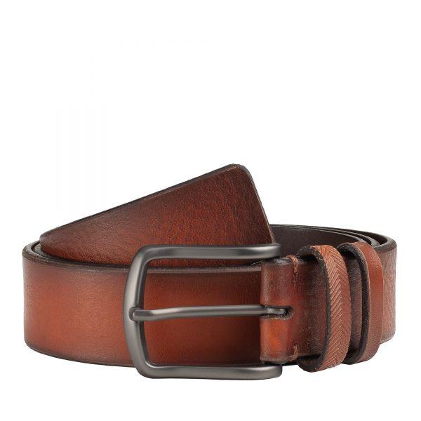 Dudu Tuscan Men's Luxury Tan Italian Leather Belt