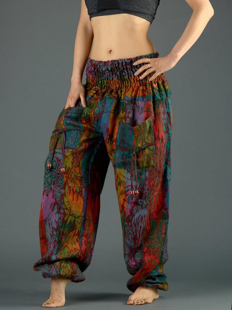 Harem Pants - High Crotch