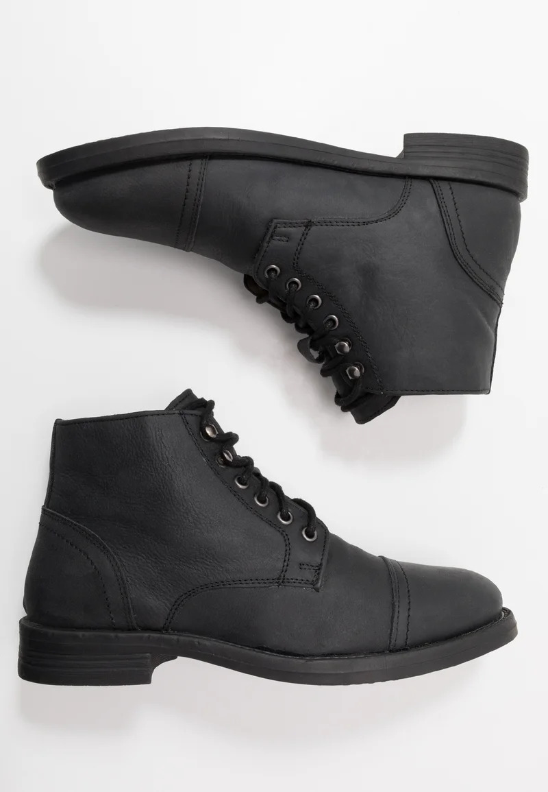 Frank Wright LANCELOT - Lace-up ankle boots - black