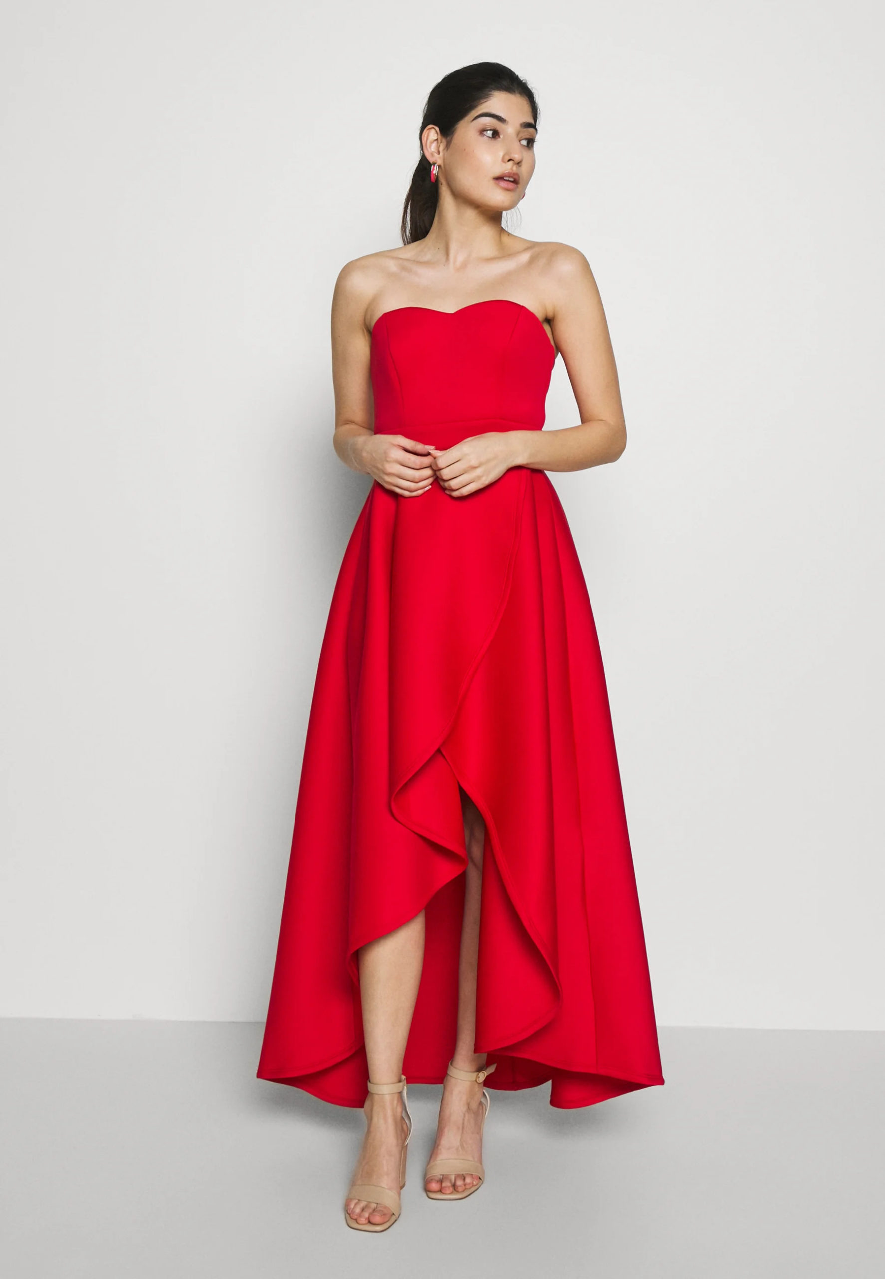 TRUE VIOLET BARDOT WRAP HIGH LOW DRESS - Cocktail dress / Party dress