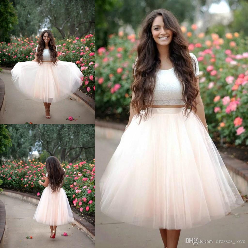 Soft & Creamy White Tulle Skirt