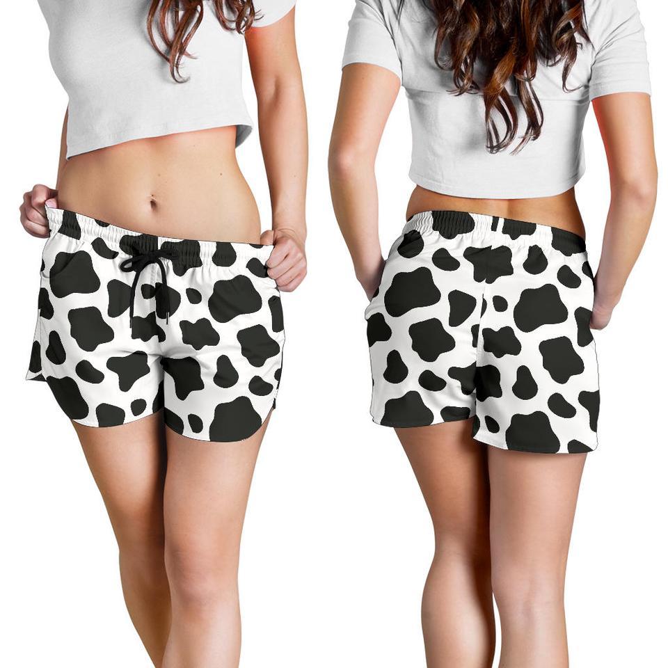 Cowskin prints shorts
