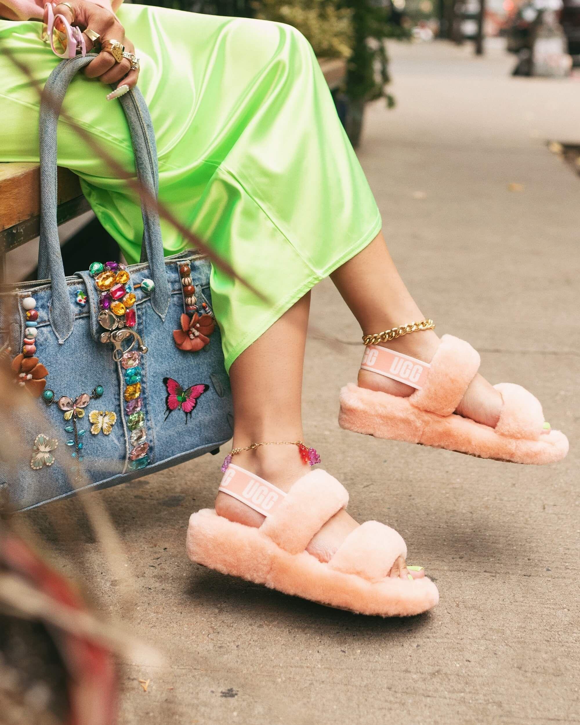 fur boots fashion