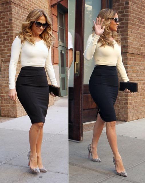 short hemmed skirts