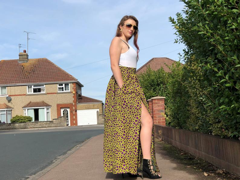 Maxi Skirt With Slit £30.00