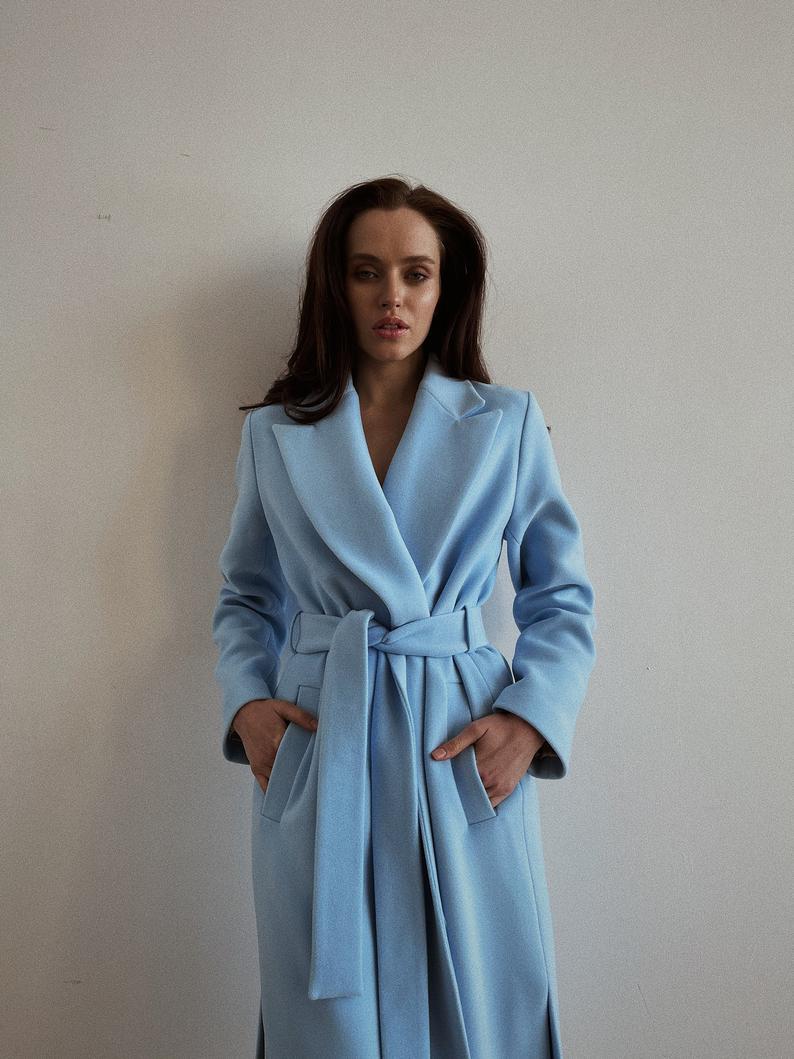 Women's Belted Coat