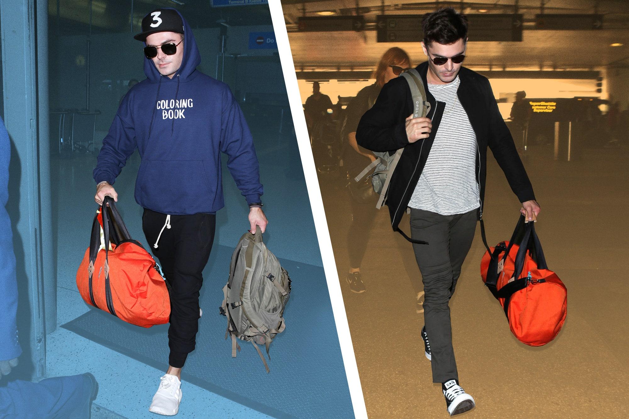 men's styles flight bags