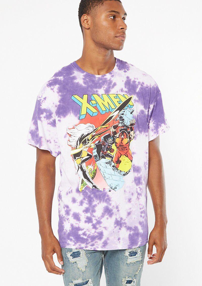 men's tie dye paint shirts
