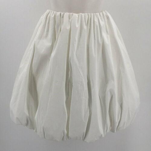 Paskal White Bubble Skirt Size Small