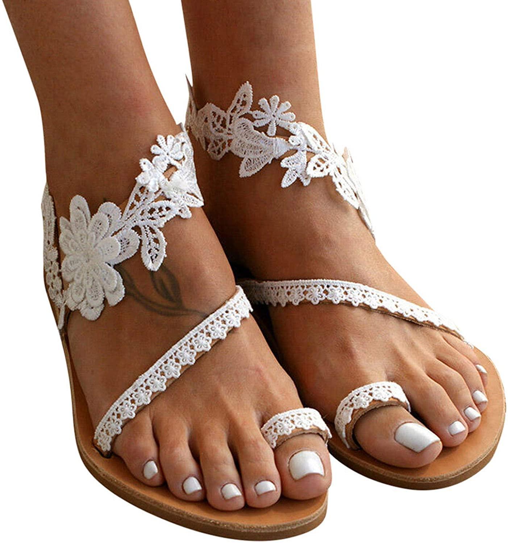 Flat Peep Toe Summer Sandals