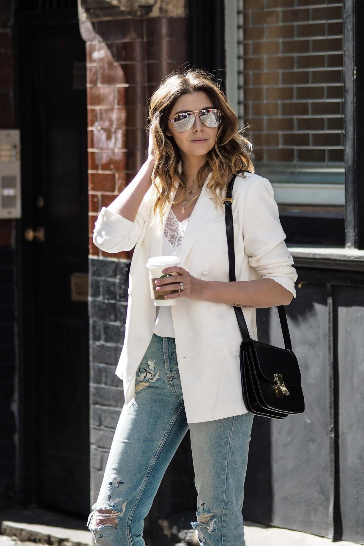 white-blazer-lace-trim-camisole