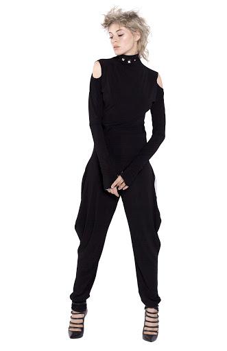 11D Turtleneck jumpsuit Double-sided