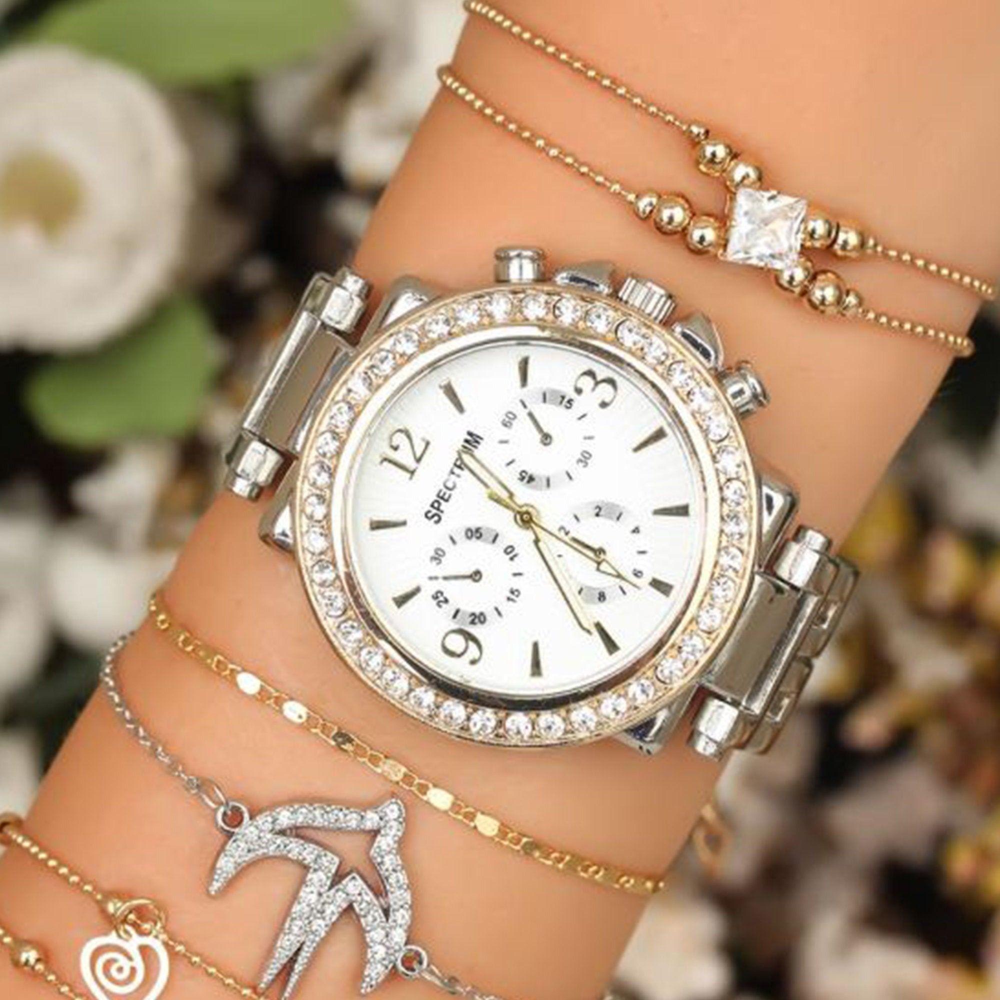 Women Bracelet with watch