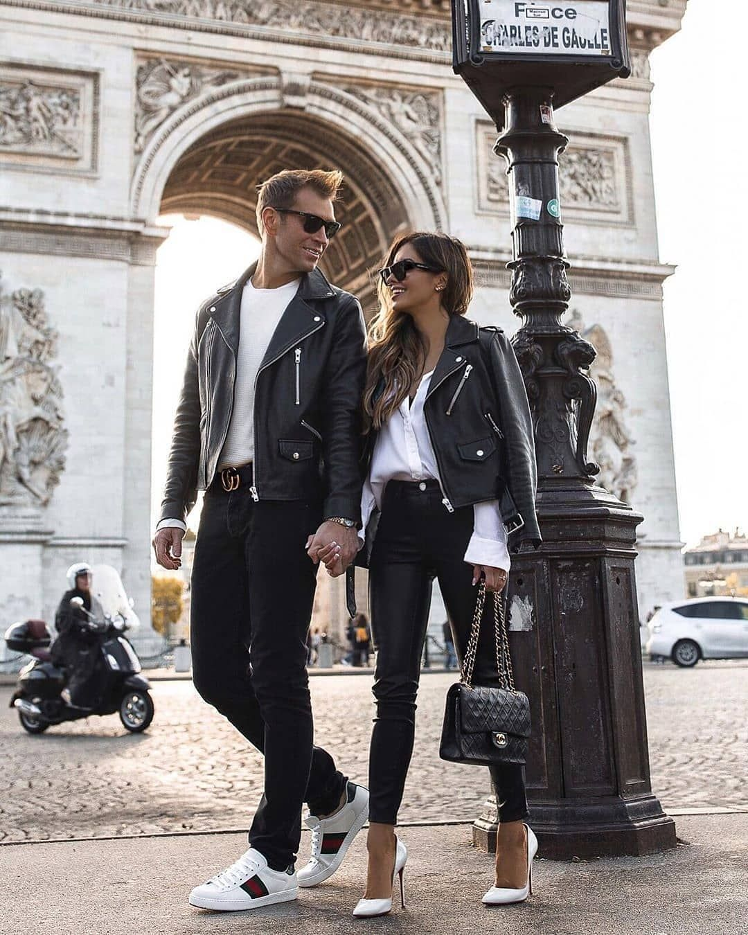 Matching Couple Outfits with accessories