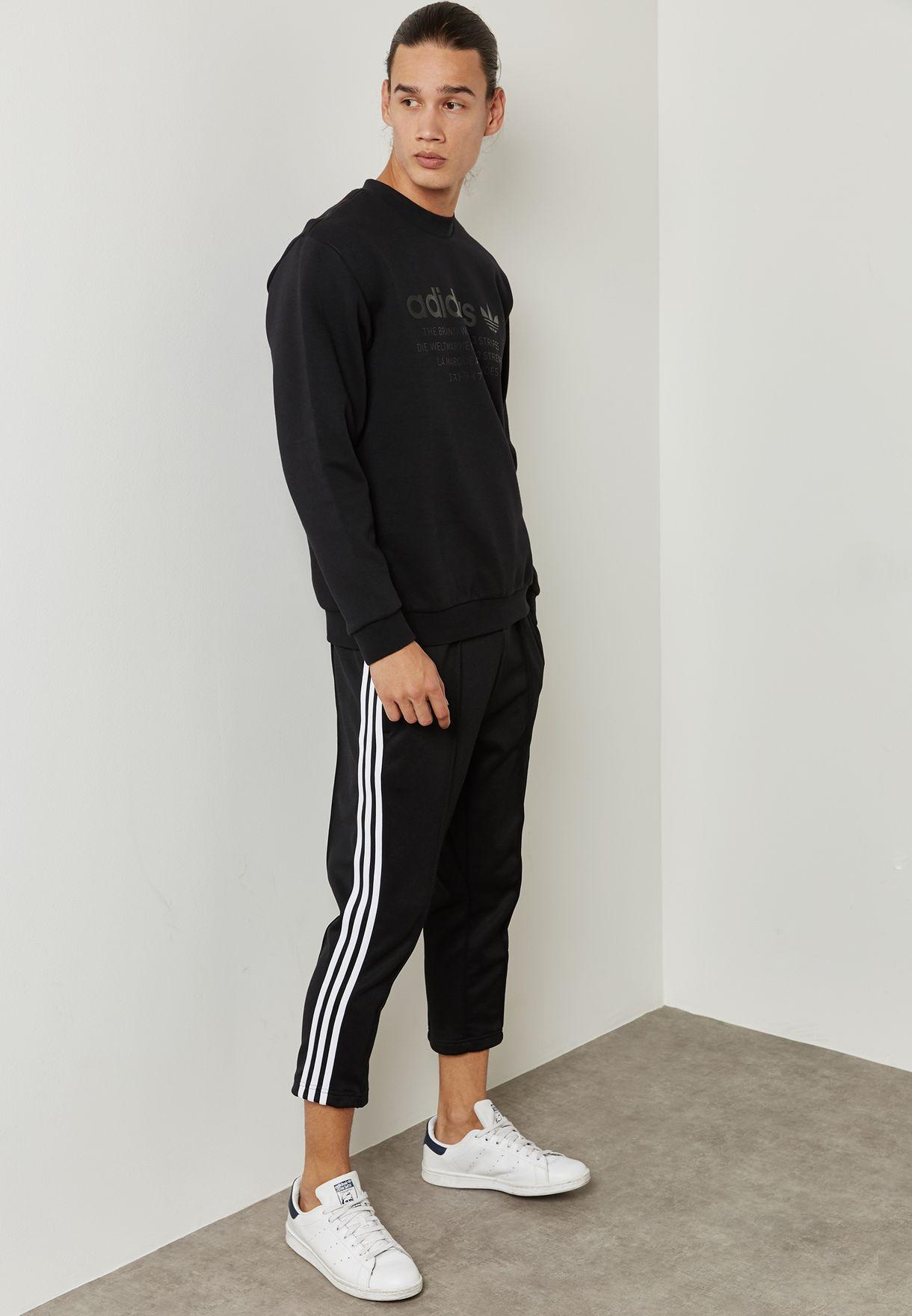 Mens Cropped Sweatpants