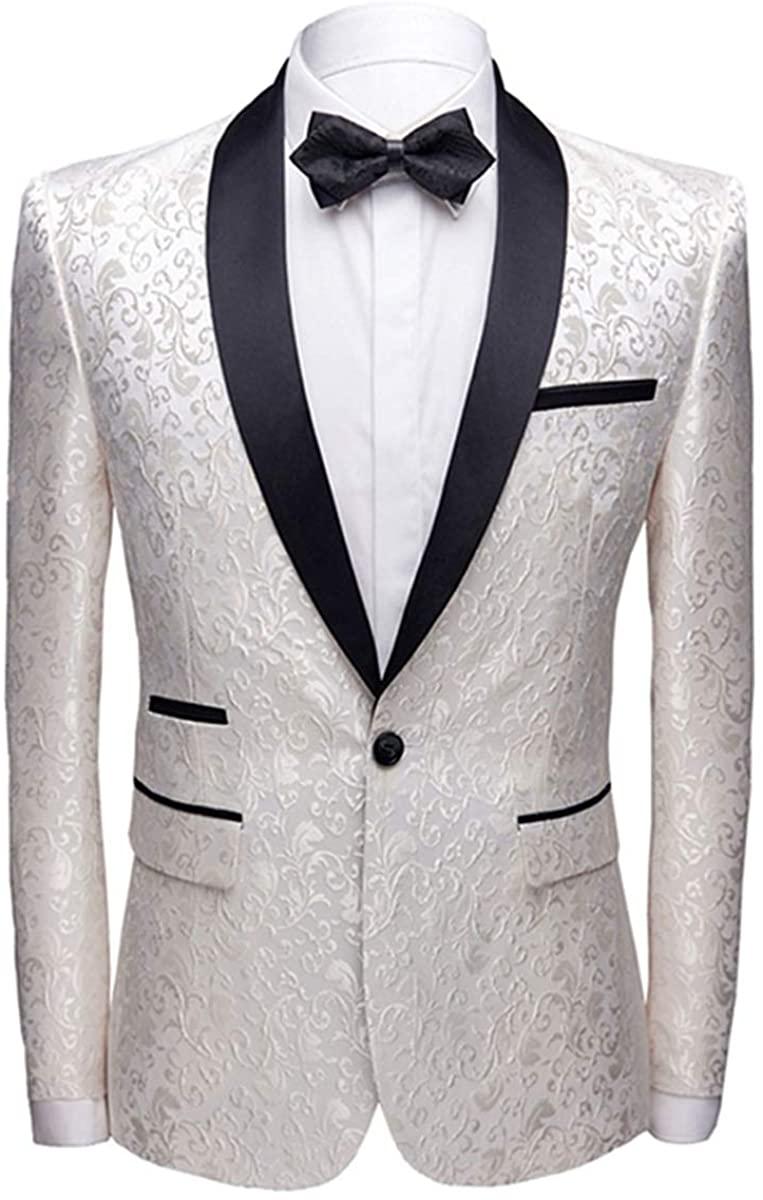 Allthemen Men's Luxury Casual Blazer
