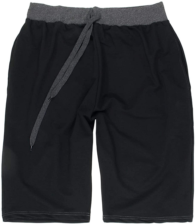 Lavecchia Men Bermuda Shorts Black Big Sizes
