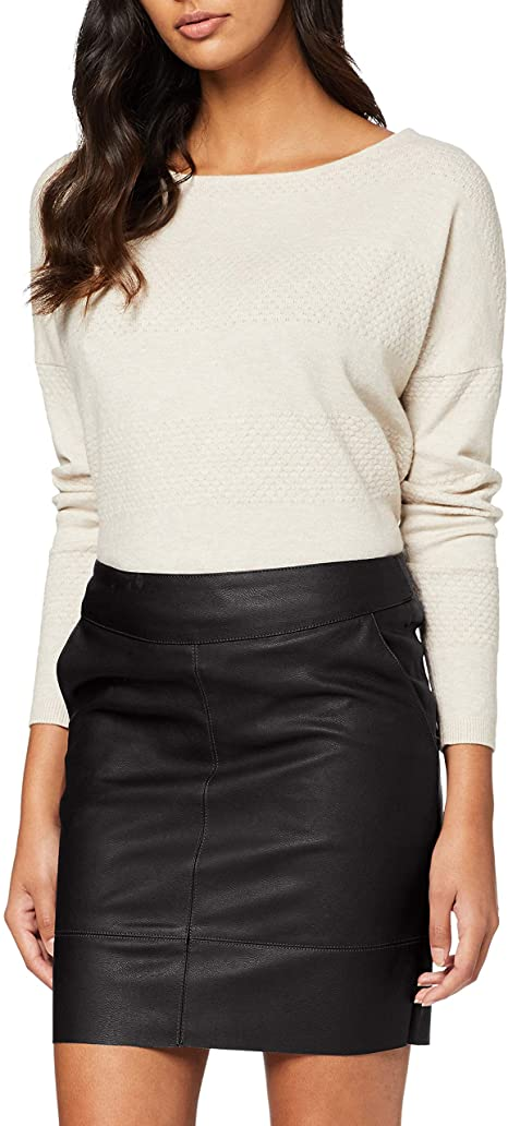 Women's Onlbase Faux Leather Skirt