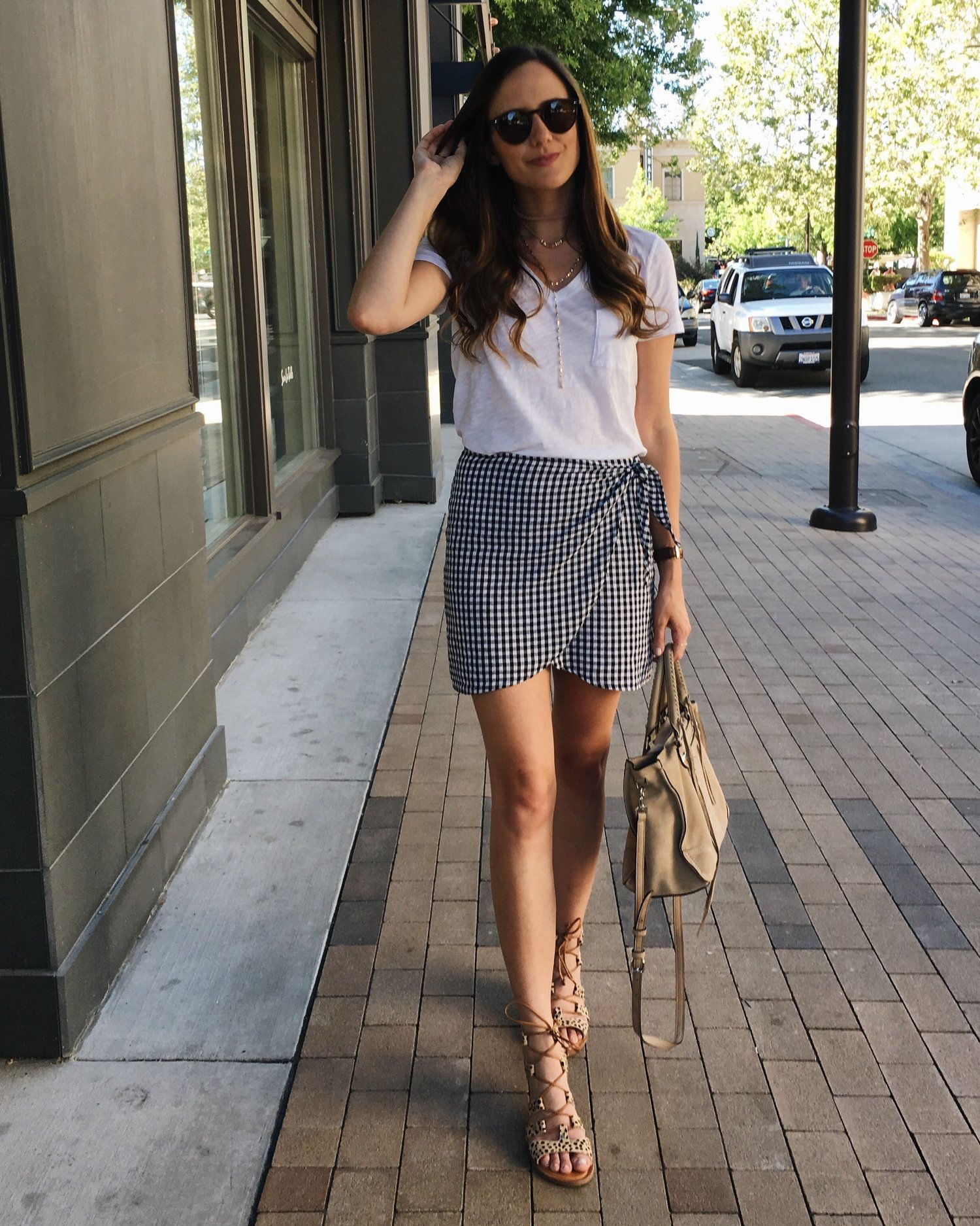 Casual Wrap Skirt